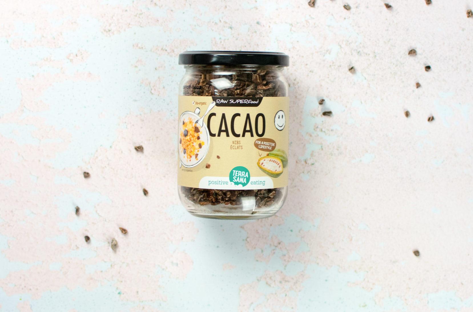 biologische raw cacao nibs terrasana