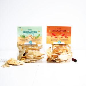 pizza croccantina crackers verpakking