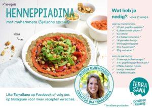 recept piadina wrap met muhummara