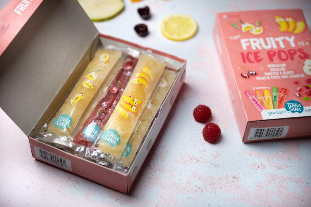 vrieslolly's, fruity ice pops, ijsjes terrasana