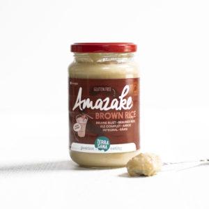 Amazake made from 100% fermented organic brown rice from terrasana